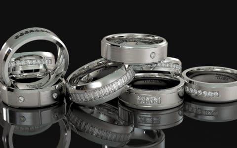 tungsten carbide ring mens wedding bands american tungsten