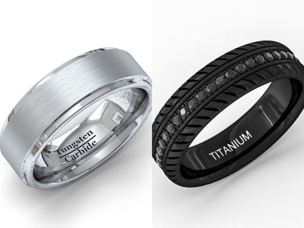 Titanium Vs Tungsten Understanding Popular Metals Used For Wedding